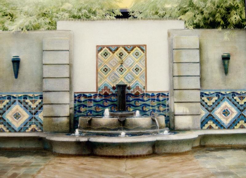 Union Station fountain